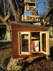 There are few rules for these neighborhood libraries. Basically, the honor system rules.