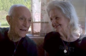 In tune, for so many years -- song helped these two through a long life together
