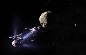 Mission to deflect asteroid