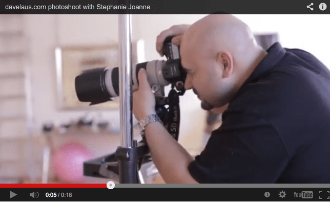 Video Clip – On Set with Stephanie Joanne