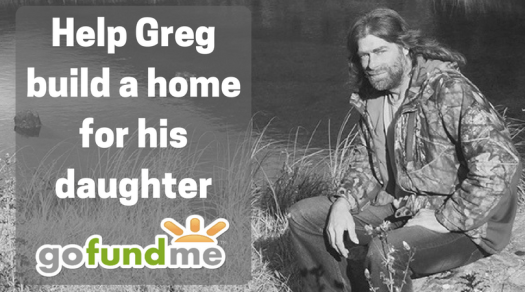 Alone Season 3 a gofundme has been started for greg! – dave mcintyre wilderness and