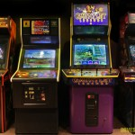 coin operated video games pacman galaga donkey kong blitz qbert spy hunter robotron defender stargate williams bally golden tee neo geo tekken street fighter