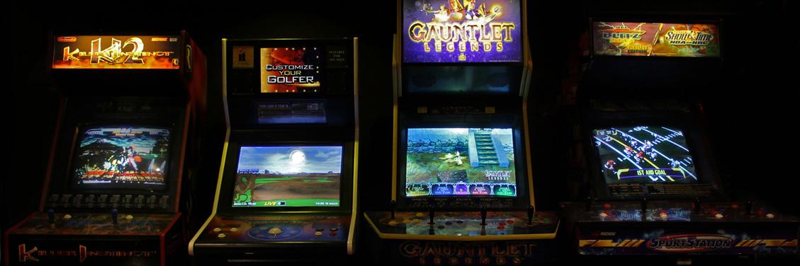 Stand Up Arcade Games, Killer Instinct, Golf, Gauntlet, Sport Station