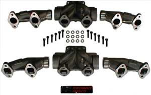 3 pc exhaust manifold dodge 5