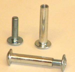 Male and female bolts