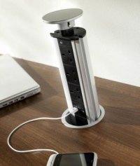 Pop up plug sockets for kitchen worktop