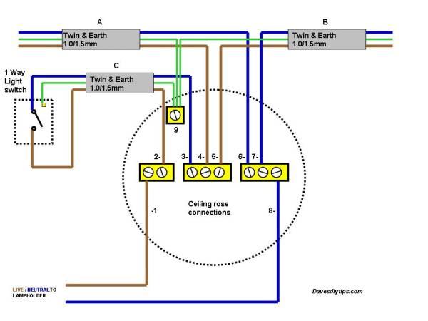 Typical Bathroom Wiring Diagram - Wiring Diagram