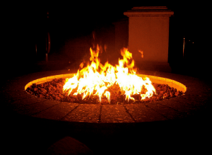 How to Build a Sunken Seating Area and Fire Pit in Your Garden