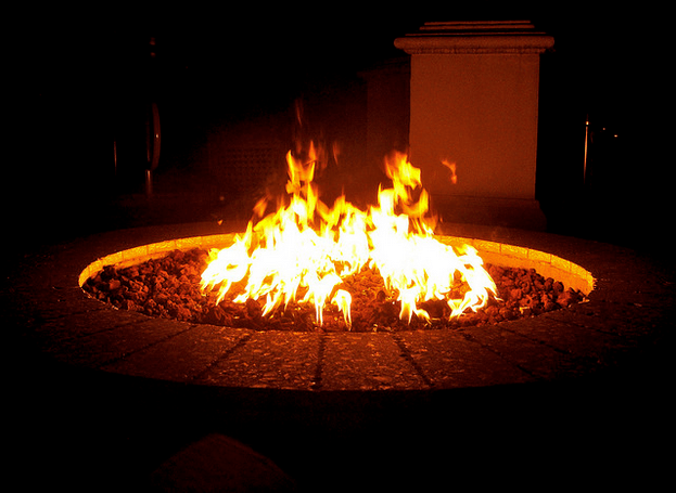 How to Build a Sunken Seating Area and Fire Pit in Your