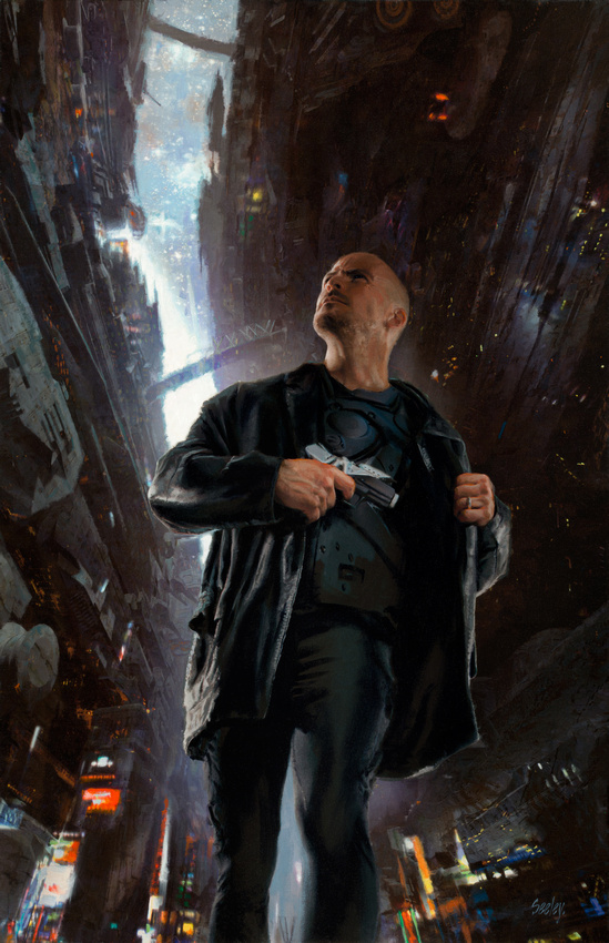 The Art of Dave Seeley: Publishing &emdash; How Dark the World Becomes - Baen Books