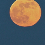 Some kind of crazy moon