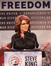 sarh palin at freedom summit