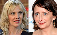 Samantha Brick and Rachel Dratch