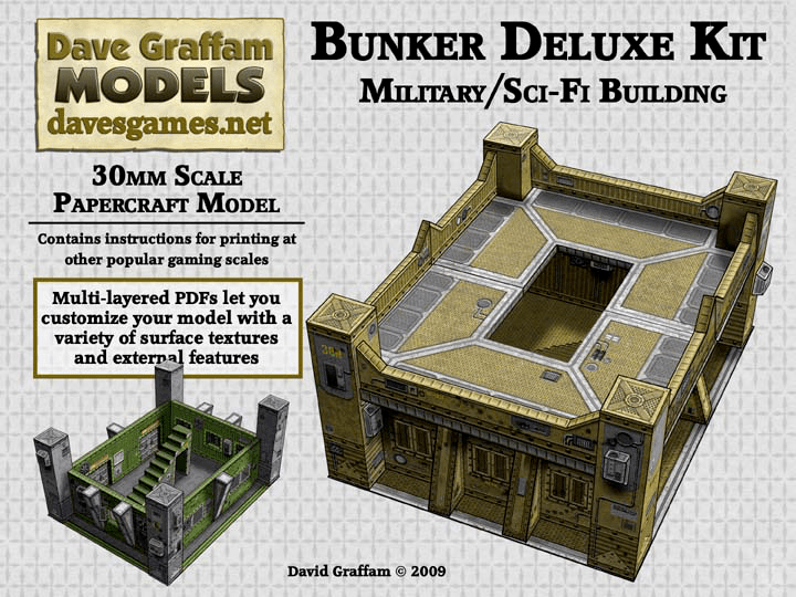 Dave Graffam's Scifi Military Bunker is completed | Your Lord and