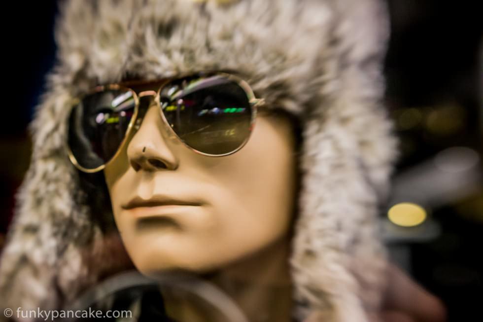 Mannequin - lens baby