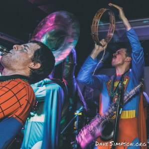 Superhero Second Line live at Neck of The Woods, 4 Nov 2016