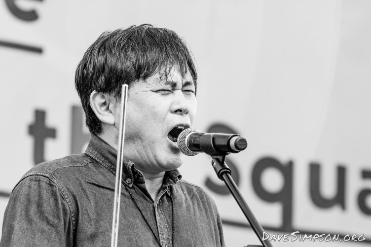 Hikashu live at Aotea Square, Aucklaknd 23 Feb 2017