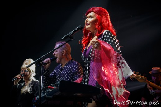 The B52s live at Vector Arena with Simple Minds, 14 February 2017