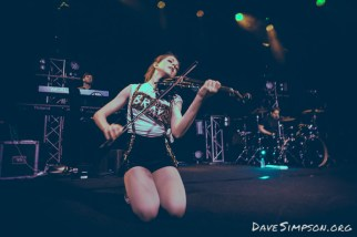 Lindsey Stirling live at the Powerstation, Auckland 19 April 2017
