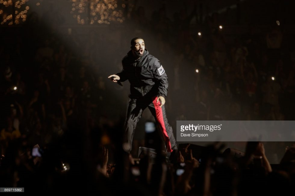 Drake live at the Spark Arena, Auckland
