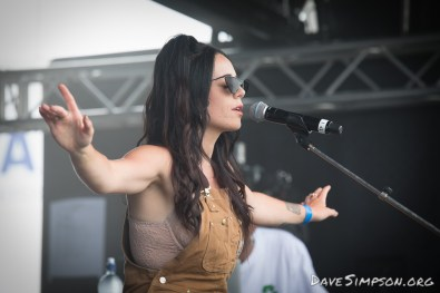 AUCKLAND, NEW ZEALAND - DECEMBER 31: Bailey Wiley on stage at Wondergarden 2017 New Year's Eve festival at Silo Park, Auckland on December 31, 2017 in Auckland, New Zealand. (Photo by Dave Simpson Photography Ltd)