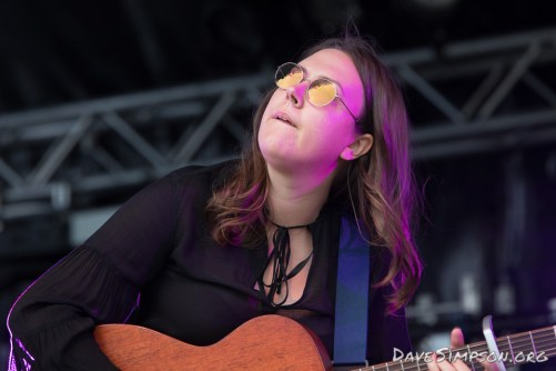 AUCKLAND, NEW ZEALAND - DECEMBER 31: Nadia Reid performs at Wondergarden 2017 New Year's Eve festival at Silo Park, Auckland on December 31, 2017 in Auckland, New Zealand. (Photo by Dave Simpson Photography Ltd)