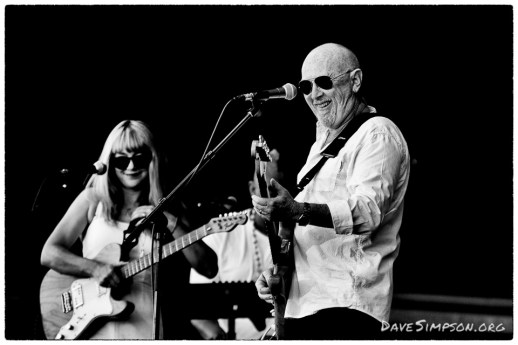 AUCKLAND, NEW ZEALAND - JANUARY 02: Singer Dave Dobbyn performs on stage supporting Bryan Adams at Matakana Country Park on January 2, 2018 in Auckland, New Zealand. (Photo by Dave Simpson/WireImage)