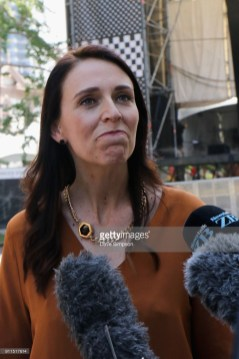 New Zealand Prime Minister Jacinda Ardern at Laneway Music Festival