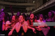 AUCKLAND, NEW ZEALAND - JULY 24: Fans cheer as Tash Sultana performs at Auckland Town Hall on July 24, 2018 in Auckland, New Zealand. (Photo by Dave Simpson/WireImage)