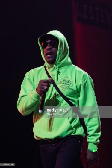 AUCKLAND, NEW ZEALAND - SEPTEMBER 28: Skepta performs during Listen In at Spark Arena on September 28, 2018 in Auckland, New Zealand. (Photo by Dave Simpson/WireImage)