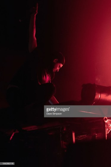 AUCKLAND, NEW ZEALAND - SEPTEMBER 28: Skrillex performs during Listen In at Spark Arena on September 28, 2018 in Auckland, New Zealand. (Photo by Dave Simpson/WireImage)