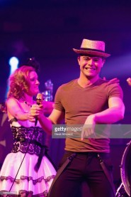 AUCKLAND, NEW ZEALAND - OCTOBER 05: Von Smith of the American band Scott Bradlee's Postmodern Jukebox performs on stage at Auckland Town Hall on October 5, 2018 in Auckland, New Zealand. (Photo by Dave Simpson/WireImage)