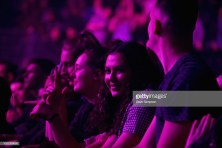 AUCKLAND, NEW ZEALAND - OCTOBER 17: Fans watch Kygo perform during his 'Kids In Love' tour at Spark Arena on October 17, 2018 in Auckland, New Zealand. (Photo by Dave Simpson/WireImage)