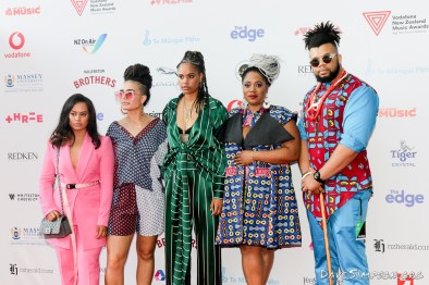 AUCKLAND, NEW ZEALAND - NOVEMBER 15: Guests arrive for the 2018 Vodafone New Zealand Music Awards at Spark Arena on November 15, 2018 in Auckland, New Zealand. (Photo by Dave Simpson/WireImage)