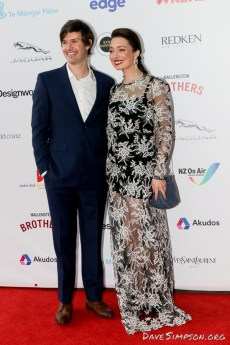 AUCKLAND, NEW ZEALAND - NOVEMBER 15: Antonia Prebble arrives for the 2018 Vodafone New Zealand Music Awards at Spark Arena on November 15, 2018 in Auckland, New Zealand. (Photo by Dave Simpson/WireImage)