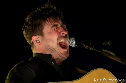 AUCKLAND, NEW ZEALAND - JANUARY 12: Marcus Mumford of Mumford & Sons performs on stage as part of The Gentlemen of the Road tour at The Outer Fields at Western Springs on January 12, 2019 in Auckland, New Zealand. (Photo by Dave Simpson/WireImage)