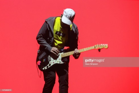 AUCKLAND, NEW ZEALAND - JANUARY 09: San Holo performs on stage during FOMO By Night Festival at Spark Arena on January 9, 2019 in Auckland, New Zealand. (Photo by Dave Simpson/Getty Images)