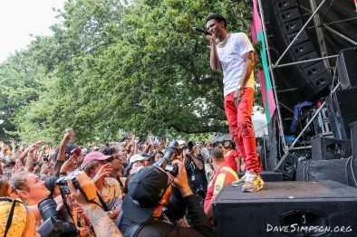 AUCKLAND, NEW ZEALAND - JANUARY 28: A Boogie Wit Da Hoodie performs on stage at St Jerome's Laneway Festival on January 28, 2019 in Auckland, New Zealand. (Photo by Dave Simpson/WireImage)