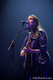 AUCKLAND, NEW ZEALAND - MARCH 07: Milly Tabak of The Milltones performs on stage opening for Bryan Ferry at Spark Arena on March 7, 2019 in Auckland, New Zealand. (Photo by Dave Simpson/WireImage)
