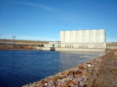 Oahe Dam and Visitor Center