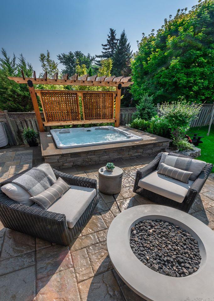 35 ideas for dream hot tub patio set ups