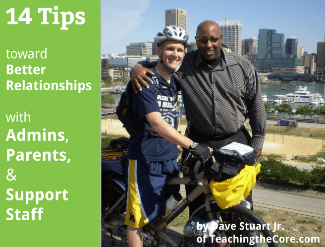 TTC Post - Tips for Professional Teacher Relationships