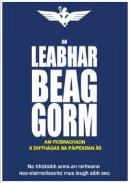 an leabhar beag gorm