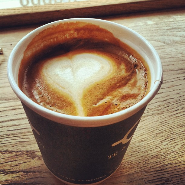 I luh you too, baristagurl. #iceland #latergram