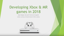 Developing Xbox, Console & Mixed Reality Games