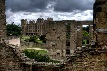 Hardwick Hall,Old to new