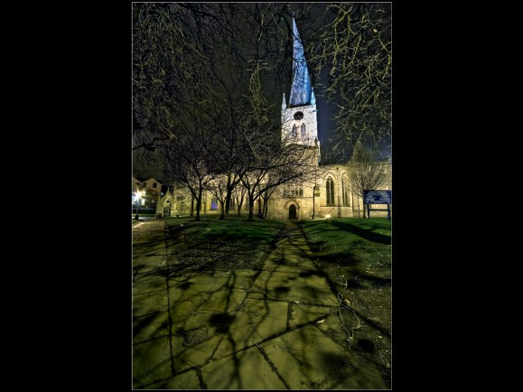 Crooked Spire by Night