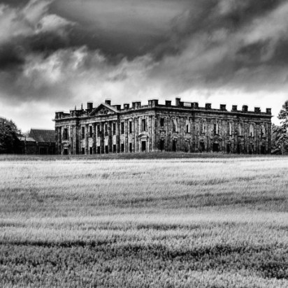 Sutton Hall B&W 1