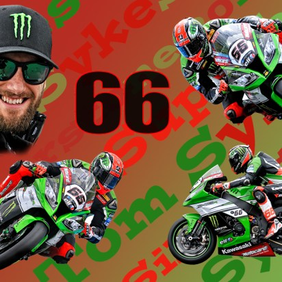 Tom Sykes. Donnington 2015. Limited Edition Print 1-66
