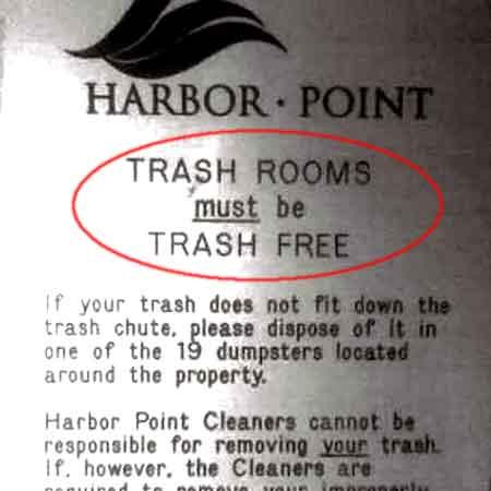 Trash free